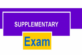 SUPPLEMENTARY/SPECIAL EXAMINATIONS