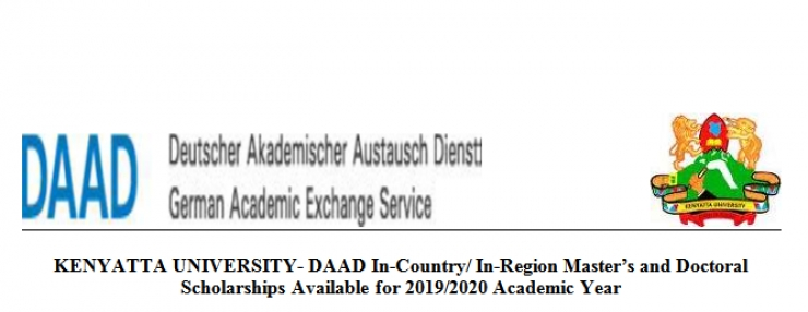 KU - DAAD SCHOLARSHIP ADVERTISEMENT 2019